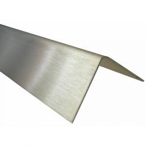 Cornière égale inox- dimensions 15x15x0,8 mm-satiné BILCOCQ