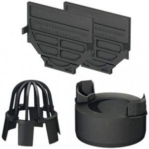 Kit d'accessoires pour caniveaux d'extérieur - Hexaline ACO PASSAVANT