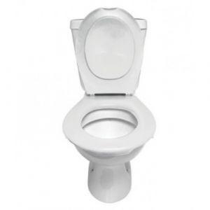 Lunette et abattant Wc clipsable - blanc PAPADO