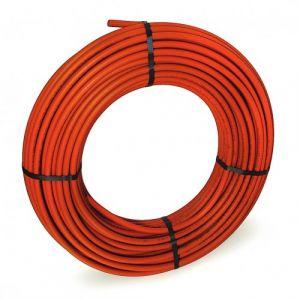 Tube PER - pré-gainé - couronne 100 m - rouge - 16x1,5 - BetaPEX COMAP
