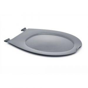 Abattant wc clipsable - 100 % hygiénique - gris PAPADO