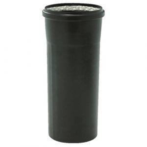 Conduit pellets émail noir - femelle-mâle - joint fibre de verre TEN