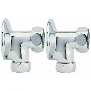 Paire d'appliques avec écrou - mâle 15x21 - femelle 20x27 BRICOZOR
