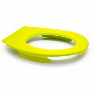 Lunette wc clipsable - 100 % hygiénique - anis PAPADO
