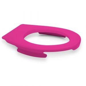 Lunette wc clipsable - 100 % hygiénique - rose PAPADO