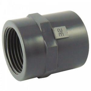 Manchon PVC pression à coller - diamètre50 - filetage 40/49 CODITAL