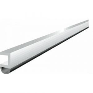 Profil d'encadrement de porte en PVC avec joint souple - PTS-N blanc ELLEN
