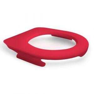 Lunette de wc suspendu clipsable - 100 % hygiénique - framboise PAPADO