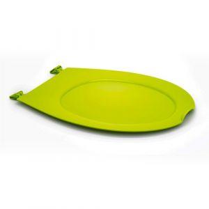 Abattant wc clipsable - 100 % hygiénique - anis PAPADO