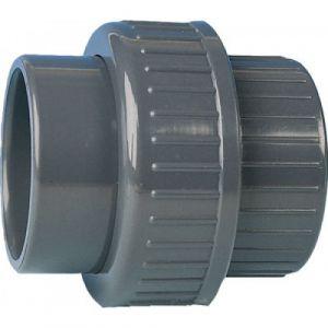 Union PVC pression femelle / femelle à coller - diamètre 25 CODITAL