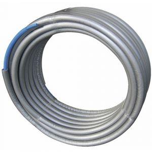 Couronne tube PER pré-gainé & isolé / 16 x 20 - 50 m / bleu PBTUB