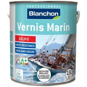 Vernis Marin - résistance UV - 2,5 L - Incolore brillant BLANCHON