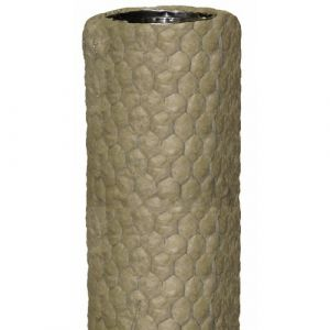 Tubage flexible - pré-isolés - 180 mm - 14 m - Ten Liss Inox TEN