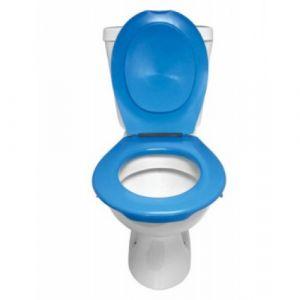 Lunette et abattant Wc clipsable - bleu PAPADO