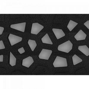 Caniveau Self 100 - avec grilles Voronoï couleur diamant fonte - sans pentes ACO PASSAVANT