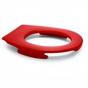 Lunette wc clipsable - 100 % hygiénique - framboise PAPADO