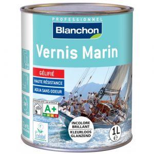 Vernis Marin - résistance UV - 1 L - Incolore brillant BLANCHON