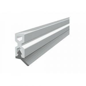 Profil d'encadrement de porte en PVC avec lèvre souple - PTS-X blanc ELLEN