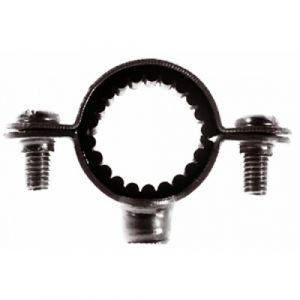 Colliers simples isophoniques pour tuyau diamètre 28 mm - 10 pièces FISCHER