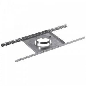 Support plancher en galva pour tubage double paroi - 180/230 mm TEN