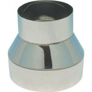 Réduction inox - simple paroi - femelle 180 mm / mâle 167 mm TEN