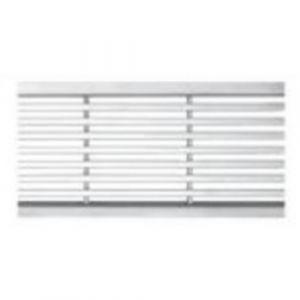 Caniveau avec grille fil inox - acier inoxydable - Self 100 ACO PASSAVANT