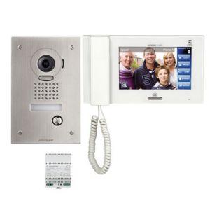 Kit interphone vidéo encastré AIPHONE - JPS4AEDF