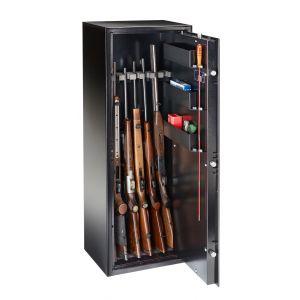 Armoire 7 fusils + coffret interne - Serrure à clé - BURG WÄCHTER Ranger N7S