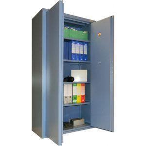 Armoire forte de sécurité 760L serrure à clé CONFORTI - NC0B-L2
