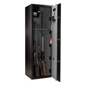 Armoire 18 fusils + coffret interne - Serrure à clé - BUFFALO RIVER A55809