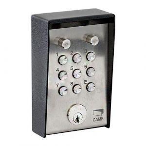 Clavier à codes anti-vandale - CAME - 001S5000