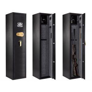 Armoire 7 fusils + coffret interne - Serrure à combinaison - BUFFALO RIVER A558050