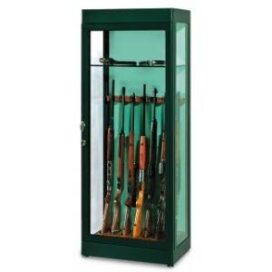 Armoire 7 fusils vitrine blindée - TECHNOMAX GA/70F