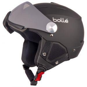 Bolle Backline Visor Soft Black & Silver With Silver Gun Visor + Lemon Visor
