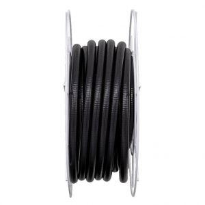 Tuyau annelé noir 0,75 pouce, 1 bar