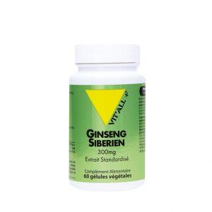Extrait standardisé de ginseng sibérien en boite de 300 mg