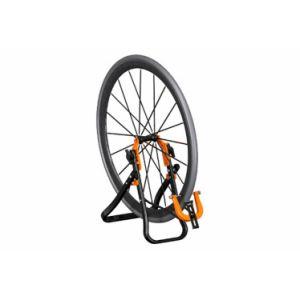 Pied de centrage pour roue velo super b