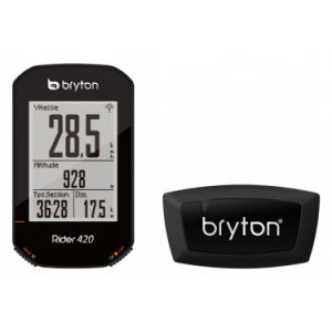 Compteur gps bryton rider 420h ceinture cardio