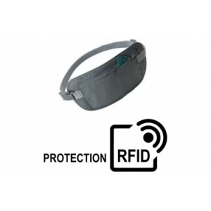 Pochette de securite anti rfid tour de taille cao