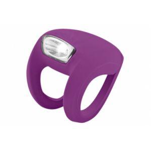 Eclairage avant knog frog strobe   knog    violet
