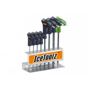 Set de cle allen en t 2 8mm et torx 25 ice toolz 7m85