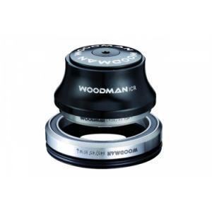 Woodman jeu de direction integre axis y xs spg 20 comp conique 1 1 8 1 5 reducteur 1 1 8 noir
