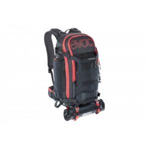 Evoc sac a dos trail builder noir rouge 30