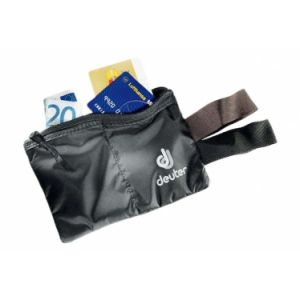 Pochette invisible deuter security flip in noire