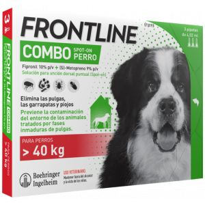 Frontline Pipettes Spot Combo Race De Très Grande Taille 40-60