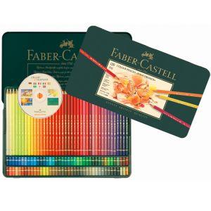 Boîte métal de 120 crayons de couleurs Polychromos