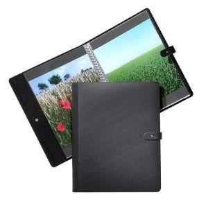 Press-book Pampa noir + 20 pochettes 29,7 x 42 cm (A3)