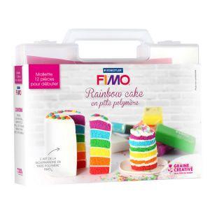 Mallette Fimo Rainbow Cake