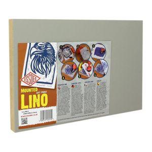 Plaque de linoleum Montée sur médium Ep.3,2 mm + 18 mm