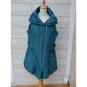 Gilet sans manches MADE IN FRANCE imperméable vert 48 (XXXL)
